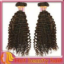 2012 new selling 100% human hair weaving wholesale virgin brazilian hair weave curly