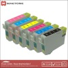 T0801 T0802 T0803 T0804 T0805 T0806 Compatible/Remanufactured ink cartridge for printer P50 R265 285 360 560 585 685 650
