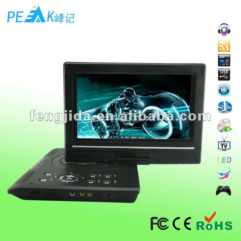 9 8 inch portable dvd divx player view portable dvd divx. Black Bedroom Furniture Sets. Home Design Ideas