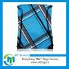 Checked fabric drawstring bag pattern free