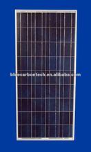 hot price per watt photovoltaic solar panel 130W