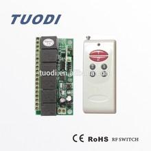 TDL-T6A Wireless Digital Appliance Remote Control Switch for light fan