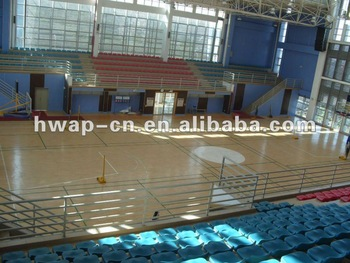 Maple Design/Wood Grain PVC Basketball Flooring/PVC Sports Flooring