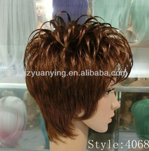 Short Stock European Hair Jewish Wig Kosher Wigs