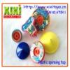 6Pcs Hot Sale Plastic Kids Spin Tops Toys Colorful Spinning Top Design