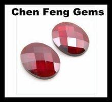 fabricante de porcelana de facetas ruby perlas para la venta