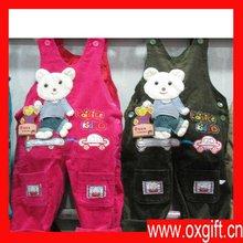 OXGIFT cotton boys and girls sleeveless children overalls romper