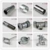 Galvanized Malleable Iron Pipe Fittings Storz Coupling 100% Air Pressure Test