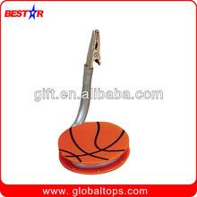 Basketball Shaped Memo Clip