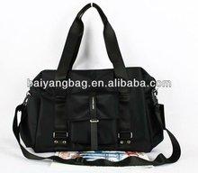 2014 Fashion Nylon Black Men's shoulder handbag