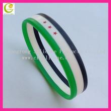 Rainbow special silicone handmade bracelet ideas