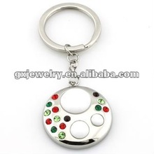 2012 hot sale Metal charms keychain