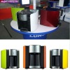 Easy-to-use tabletop mini custom hot and cold water purifier cooler machine dispenser with Comprehensive filtration system
