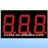 0,28 inch 7segment 3 digits LED display module