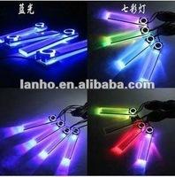 LED Car Light 12V Glow Lamp Interior Decorative Foot Lamp Blue car accessories