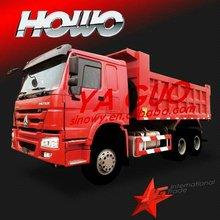 2012 Howo 6x4 red Dump truck
