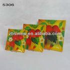 Fruit Design Glass Square Plates