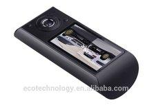 X3000 HD car DVR + 140 degree super wide angle +1080P car audio+IR+GPS X3000
