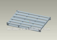 Carbon steel pallet for tyres