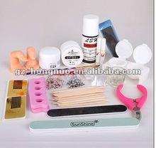 Nail Art Kit UV Acrylic system Manicure Buffer File Pen Decorations tool set HN1278