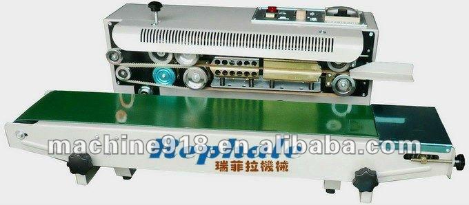 film continuous steel coding sealing machine