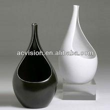 ceramic porcelain flower vase,plastic flower vase,hand painted ceramics flower vase
