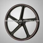 Black Rims and Wheel