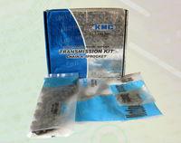 Motorcycle roller Chain 415 KMC chain kit ,kmc sprocket kit