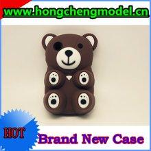 Lovely animal shaped phone cases for BlackBerry 9320