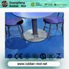enviromental pvc/rubber flooring for commercial use