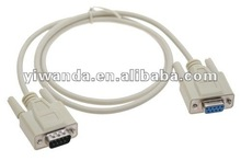 3ft db9 pin male to female cable