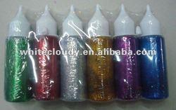 kid's DIY glitter glue for school