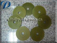 Diamond Flexible Pad Wet Diamond Hand Polishing Pad for Stone Grinding and Polishing