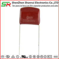 Film-Foil Metallized polypropylene film capacitor (PPS) with Good self-healing Effect