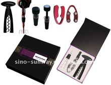 Twist Wine Essential Accessory Set Bar Sets for Promotion