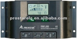 12V/24V 20A solar charge controller LCD Display