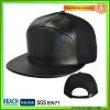 black leather snapback caps SN-0033