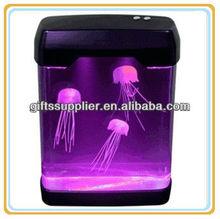 Electronic Jell Fish Mood Lamp Jellyfish aquatic animals box Christmas' gifts