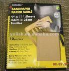 Garnet sandpaper
