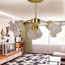 3 light cheap modern white glass chandelier