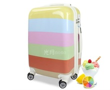 2012 new item trolley case aluminum trolley system colorful good quality