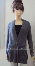 lady fashion cardigan sweater