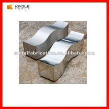 high quality powder coating cold rolled steel benches outdoor