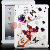 Exquisite and Elegant Butterfly TPU Case cover for iPad 2
