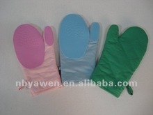 2-pack Silicon Cotton-Lined Oven Mitts