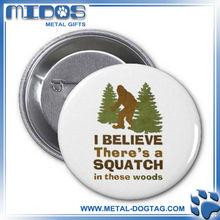 2012 Tin Badge Pin