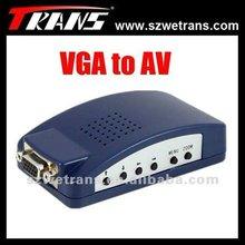 TRANS VGA to AV Converter (VGA signal to AV/S-Video) TR-LC075