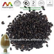 ISO&Kosher 10%-98% Sesamin Black Sesame Seed Extract