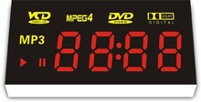 full color LED digital DVD player display screen panel