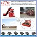 Qtj4- 35b2 pequeño ladrillo de hormigón de la máquina, operar de la mano de bloque hueco de la máquina